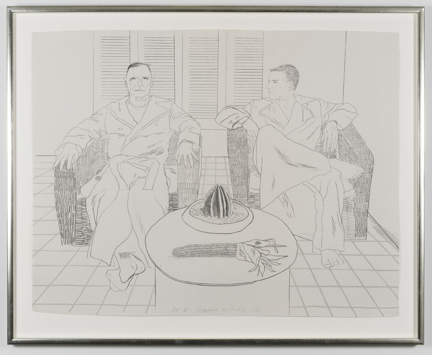 David Hockney Christopher Isherwood Don Bachardy
